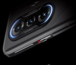 Redmi K40游戏增强版首发雷电异形闪光灯:电竞气息十足!