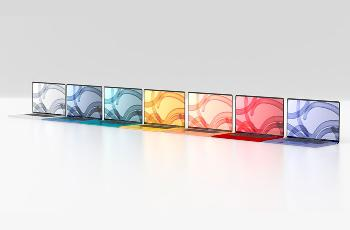 曝苹果 MacBook Air 2021 将采用类似新 iMac 的七彩色