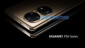 华为P50系列或6月发布,渲染图曝光:鸿蒙OS、双圆四摄
