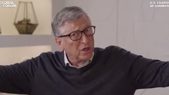 比尔·盖茨宣布离婚后亮相!未提任何个人问题,仍待着婚戒