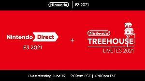 E3 2021任天堂直面会6月16日开幕 40分钟,内容丰富