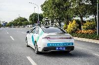 """""""真·上街"""",广州自动驾驶汽车试点与其他车辆混行"""