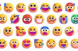微软发布全新emoji表情:静态变3D