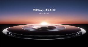 荣耀Maigc 3正面照意外曝光,采用左置双挖孔屏设计