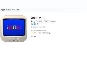 苹果App Store再次下架iDOS 2模拟器:违反商店准则
