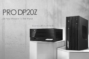 微星发布可商用PC:PRO DP20Z 5M,体积仅2.6L