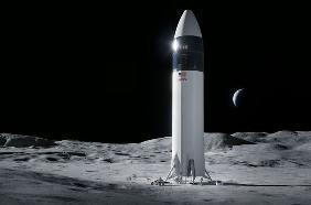 马斯克:2024年前造好载人登月舱,可能更早