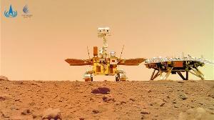 祝融号火星车已经工作100天,已经探索1000米外地区