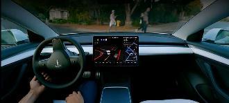 特斯拉最新自动驾驶系统软件即将发布,在用户界面有改进