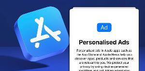 iOS15新增提示,将会询问用户是否要在第一方应用中使用个性化广告