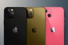 iPhone13存储版本及配色曝光:64G起步 新增粉色款