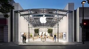 疫情期间,消费者更多的使用了苹果服务