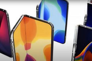 据爆料,苹果将于2023年推出折叠屏手机,或将由LG提供面板