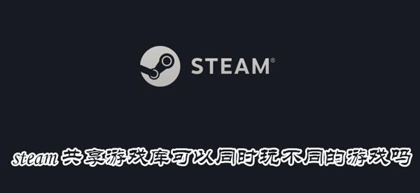 游戏 steam同享游戏库能够同时玩分歧的游戏吗-U9SEO