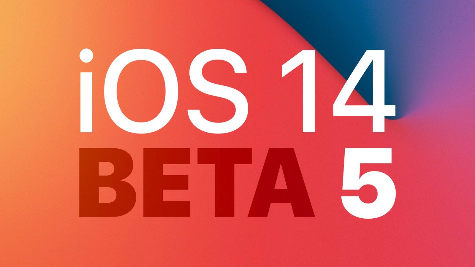 软件知识:iOS14Beta5更新了什么