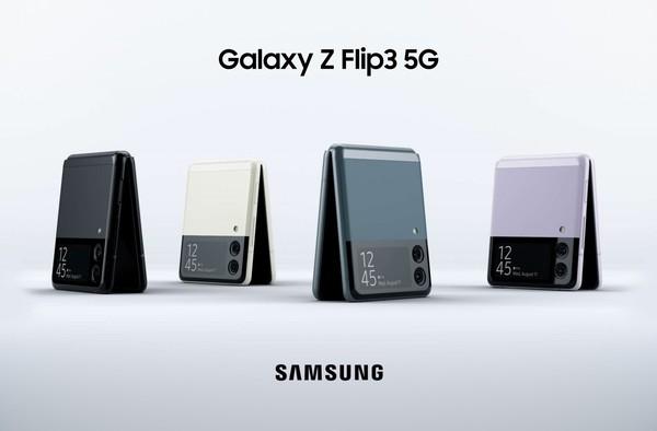 三星Galaxy Z Flip3渲染图亮相,翻盖设计,还有副屏