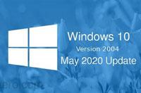 微软确认了Windows 10 v2004的更多细节  下个月推送