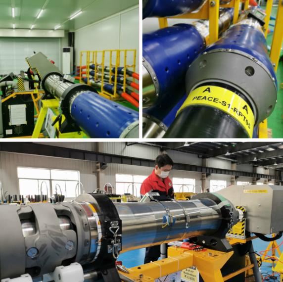 华为海洋PEACE海缆项目水下产品生产集成有序进行中