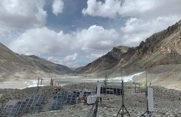 中国联通5G网络已经覆盖珠峰:采用太阳能发电系统供电