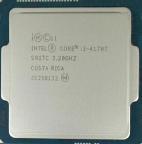 i3-4170同样集成了IntelHD4400显示核心,主频为3.7GHz