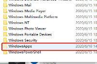 win10Microsoft Store下载的文件在哪里