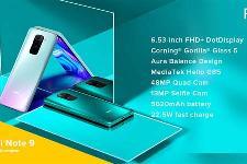 Redmi Note 9印度发布:联发科G85处理器/5020mAh电池、约1119元起
