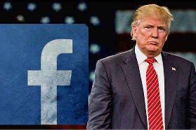 """脸书删除特朗普发布的虚假视频 因其违规发布""""谣言"""""""