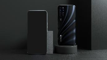 中兴公布 AXON 20 5G 屏下摄像头手机清晰图片