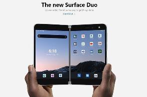 微软 Surface Duo 宣布降价 200 美元,上个月才开售