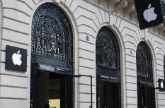 苹果将在法国临时关闭17家门店 只剩3家开张
