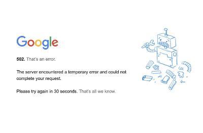 服务器再次全球宕机 谷歌官方回应:内部技术故障所致