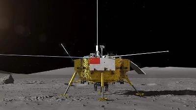 竖立在月球的五星红旗永久留在月球