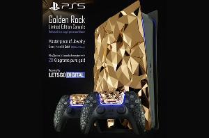 最贵PS5亮相:贫穷限制了我的想象
