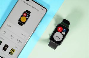 华为首款方形轻智能运动手表WatchFIT发布:轻薄全彩 售价799元起