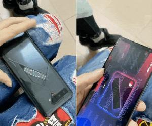 华硕ROG4游戏手机工程机曝光:后盖副屏是亮点
