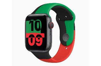"苹果推出""Black Unity Collection""限量版Apple Watch"