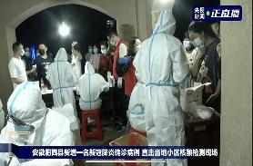 安徽六安两地区调为中风险:3天内将对全员核酸检测