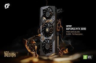 七彩推出限量版 GeForce RTX 3090 KUDAN 显卡,售价3.2万元