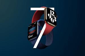 """苹果 Apple Watch Series 7 手表爆料:将采用更小的""""S7""""芯片"""