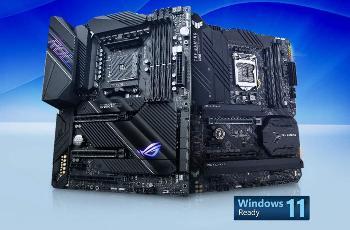 华硕发布首个 Windows 11 主板 BIOS 更新