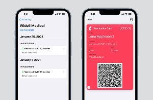 iOS 15 正式版:可添加健康记录到钱包中