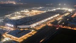 特斯拉上海超级工厂正在全力交付,做好了冲刺准备
