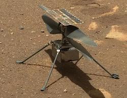 NASA火星直升飞机机智号出现异常,第十四次飞行未能成功