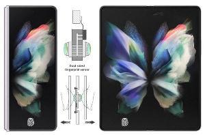三星Galaxy Z Fold 4或将采用双面屏下指纹